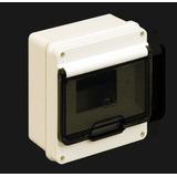 Caja Exterior 4 Bocas P/ Termica Con Puerta Estanca Roker P3