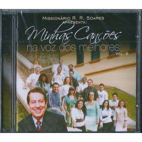 Cd Minhas Canções Na Voz Dos Melhores R R Soares - Vol 2
