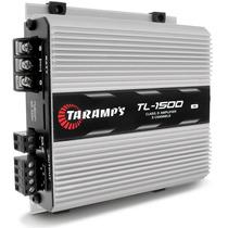 Modulo Taramps 390w Rms Tl1500 3 Canais + 2 Cabos Y 1f 2m