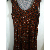 Vestido Corto Falda Evase Acampanado Con/sin Estampado.