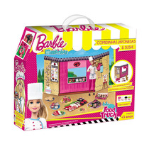 Barbie Massinha Food Truck Comidas Japonesas E Sushi - Fun