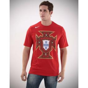 1e9e449e90 Camiseta Vermelha Nike Original Tam - Camisetas no Mercado Livre Brasil