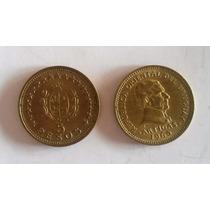 7 Monedas De Uruguay De 1 Y 5 Pesos Años 1960 Y 1965