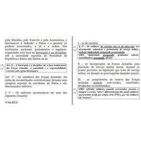 Eaof 2018 Regulamentos Militares Comentados E Anotados.