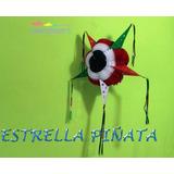 Papel Picado Estrella Piñata Tricolor