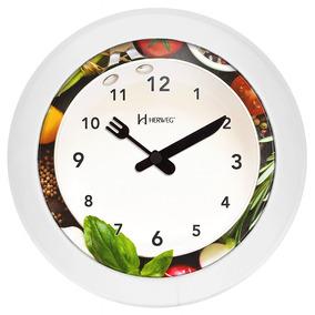 Relógio 6651 De Parede Herweg Cozinha 21cm