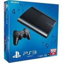 Sony Playstation Ps3 500gb-incluye 4 Juegos-cuotas S/interes