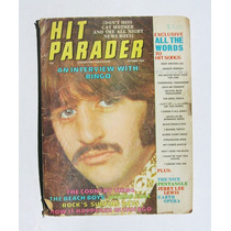 Ringo Starr (the Beatles) Hit Parader Revista Importada 1969
