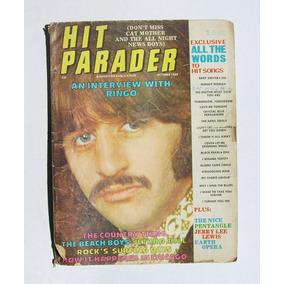 Ringo Starr (the Beatles) Hit Parader Revista Importada 1969