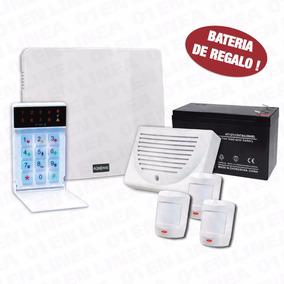 Kit Alarma Alonso A2k4 Ng 3 Sensores + Sirena + Teclado + Ft
