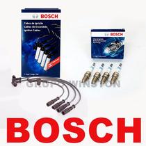 Kit Cabos E Velas Bosch Gm S10 Blazer 2.4 Gasolina