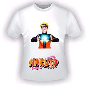 Camiseta Infantil Naruto Anime Barato Masculino Feminino