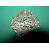 Medalla Antigua O Llavero Carreta Bueyes Criollo Campo S/ins