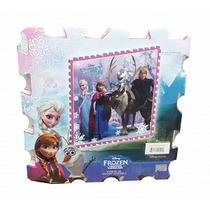 Tapete Armable De Foamy Diseño Frozen De 32x32cm