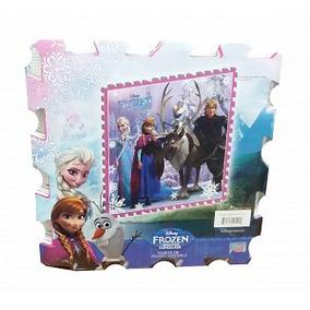Tapete Armable De Foamy Diseño Frozen