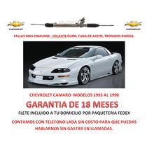 Caja Cremallera Direccion Hidraulica Chevrolet Camaro 1997