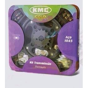 Kit Relação Cb300 - Kmc Gold Com Retentor - 12x Sem Juros