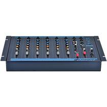 Mesa De Som 4 Canais + 1 Auxiliar Cd/dvd/mp3-4 Omx-6 - Oneal