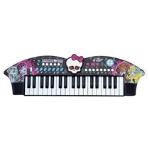 Teclado Musical Infantil Skull Bat Monster High Mh1351