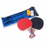 Set Paletas, Malla Y Pelotas Ping Pong Nautika