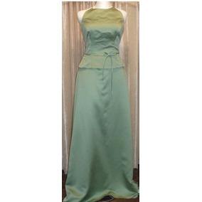 Lilasori Vestidos De Fiesta Talla 9 Color Verde Importado