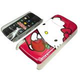Funda Acrilico Nokia 5800 5230 Kitty Envio Promo Consulte