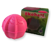 Bola De Lavar Roupas Ecológica Okoball Pink