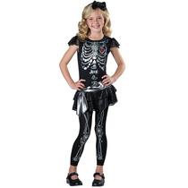 Disfraces Incharacter Traje Esqueleto Brillante Color 10