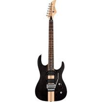 Guitarra Eagle Egt61 Com Floyd Rose -satin Black