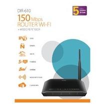 Router D-link Dir-610 Antena Alta Ganancia Negro Xrds M1