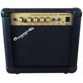 Amplificador Para Guitarra 20 Watts Rms 2 Canales Stag20