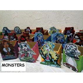 Dulceros Personalizados De Monsters High Cajitas Infantiles