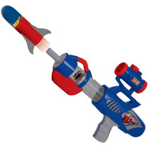 Pistola Super Bazooka Spiderman Hombre Araña Con Mira Ditoys