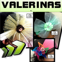 10 Valerinas Bebe Niñas Diademas Moños Mayoreo +envio Gratis