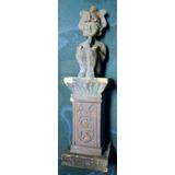 Estatueta Egípcia Osíris Em Resina 12 Cm
