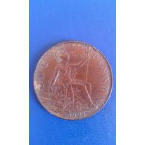 Moneda One Penny Inglaterra. Año 1921