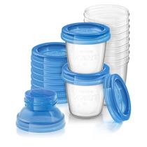 Philips Avent 10 Vasos Almacenar Leche Materna Adaptador