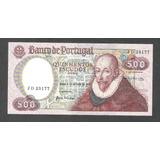 Por005 Billete De Portugal De 500 Escudos De 1979 Unc Aff*