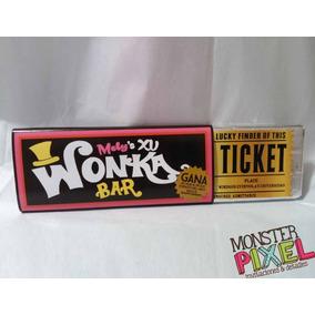 Invitaciones Barra Chocolate Wonka Xv Años Cumpleaños