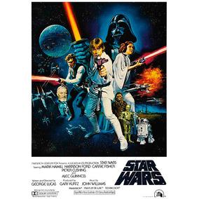 Posters Cartazes Star Wars - Guerra Nas Estrelas - 29x41cm