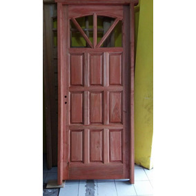 puerta de madera alamo pulgadas ccerradura