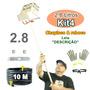 Projetor De Argamassa 2.8 L Teto Parede - Kit4 Extensor 10m