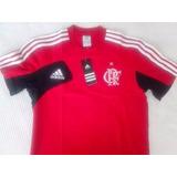 Camisa Flamengo Algodão Rubro Negro Treino adidas 2013