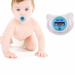 Termômetro Chupeta Digital Infantil Criança Bico Febre