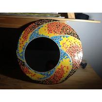 Espejos En Mosaico Artístico, Mosaiquismo A Pedido