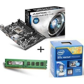 Kit 1150 Dual Core G1820 2,70+ 4gb+ Placa Mae Frete Grátis