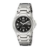 Wr100 Titanio Reloj Eco-drive Citizen De Hombre