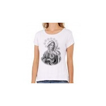 Camiseta Sagrado Coração De Maria Pb