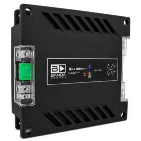 Modulo Banda Voxer 2.4 360w Rms 4 Canais 2 Ohms Amplificador