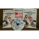 ¡click! Wii Mario Kart Juego Original Wii Reputacion